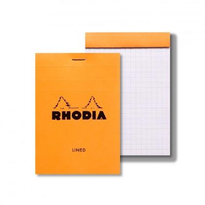 RHODIA Basics No.12 85x120mm Lined hsp Orange