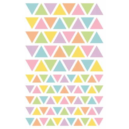MAILDOR Geo Stickers Initial Triangle 4s