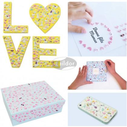 MAILDOR 3D Stickers Cooky Kawaii Candies 1s