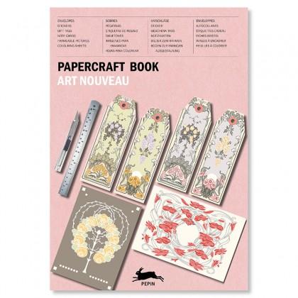 PEPIN Paper Craft Book Art Nouveau