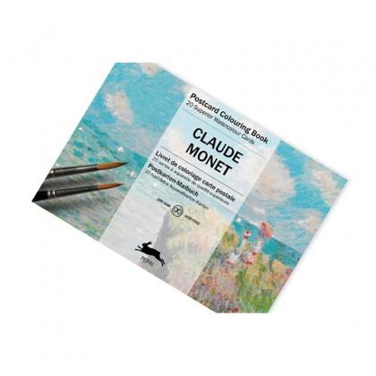 PEPIN Postcard Colouring Book Claude Monet
