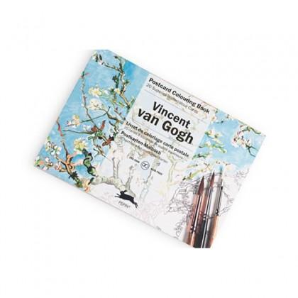 PEPIN Postcard Colouring Book Van Gogh