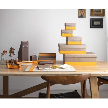 RHODIArama Desk Blotter 600x400mm Chocolate