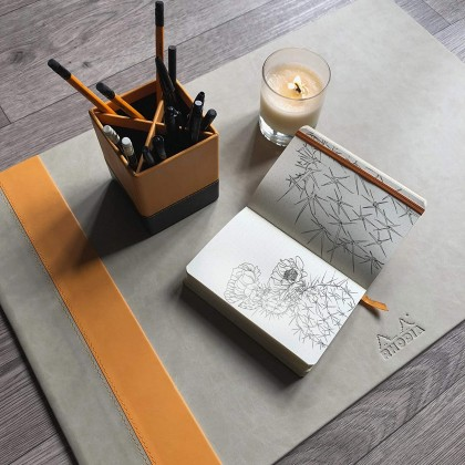 RHODIArama Desk Blotter 600x400mm Daffodil