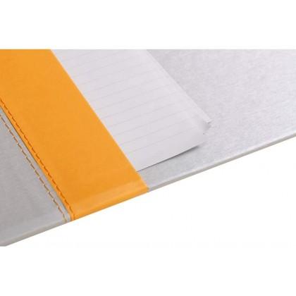 RHODIArama Desk Blotter 600x400mm Silver